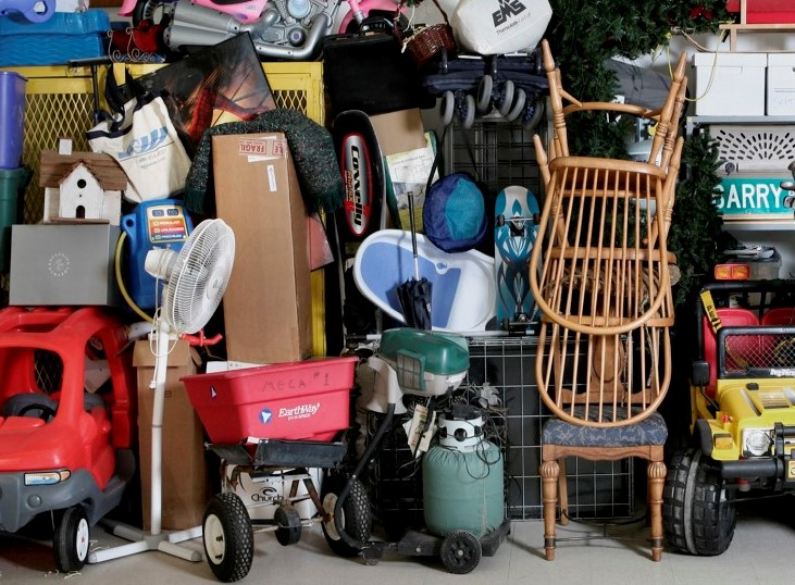 full garage, tools, sharing economy, loaning, renting, buy used, sell used, buy and sell, loan and rent, bike share, overconsumption, sustainable living